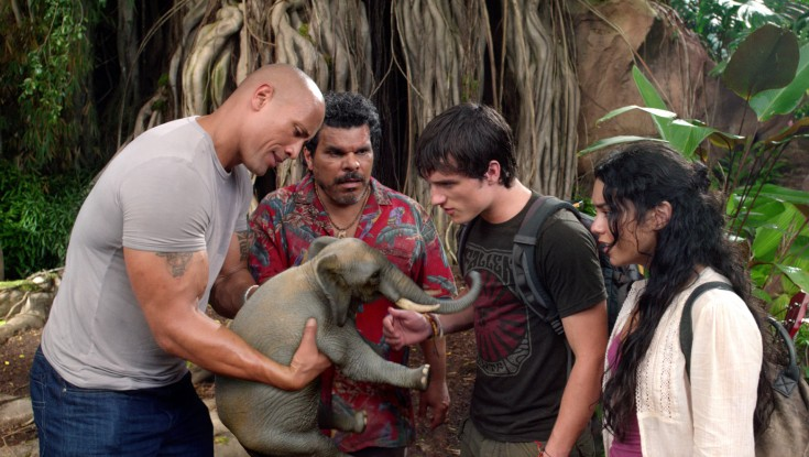 Dwayne Johnson Journeys to 'The Mysterious Island' – 4 Photos