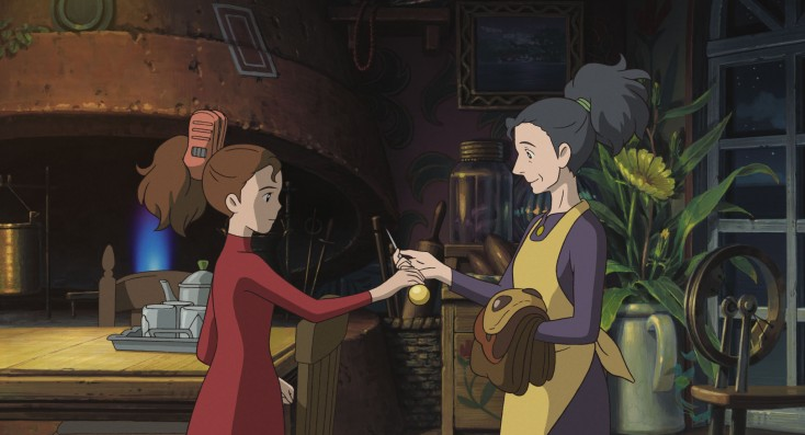 It's A Small World for Studio Ghibli's 'Arrietty' – 3 Photos