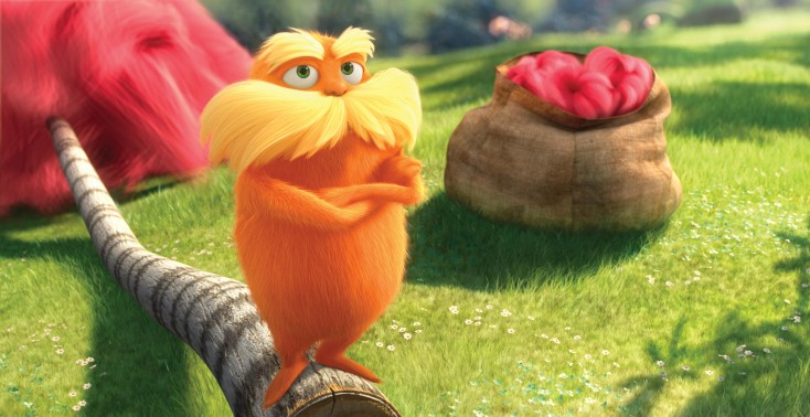 Danny DeVito's Green Message as 'The Lorax' – 3 Photos