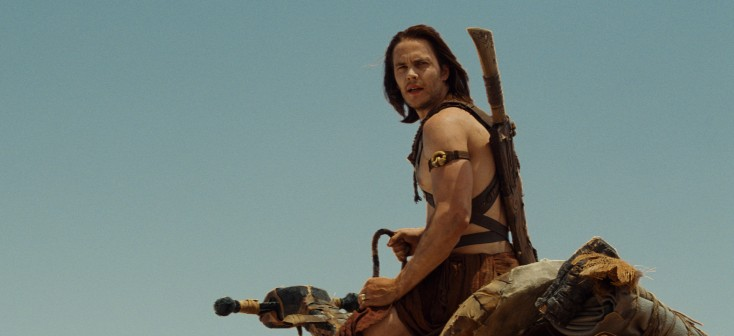 Taylor Kitsch Goes From Gridiron to 'John Carter'