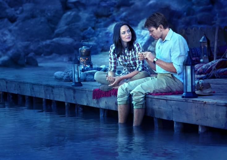 Emily Blunt, Ewan McGregor Go 'Fishing'