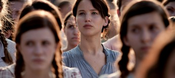 Jennifer Lawrence Steps Up to the Plate for 'The Hunger Games' – 4 Photos