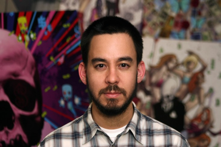 Linkin Park's Mike Shinoda Raids Hollywood – 5 Photos