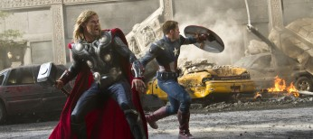 Whedon Corrals Marvel Superheroes in 'The Avengers' – 4 Photos