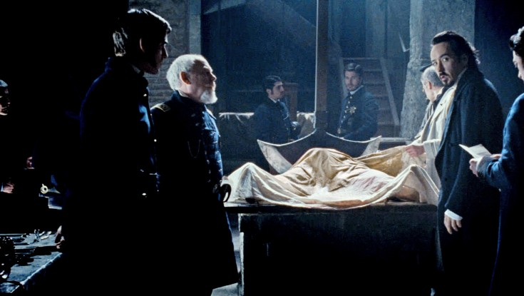 John Cusack Channels Poe in 'The Raven' – 3 Photos