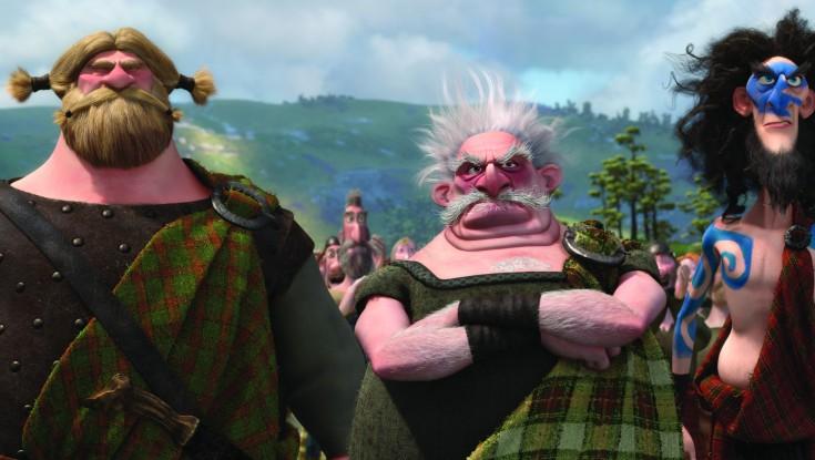 Scottish Cast Weigh in on Pixar's 'Brave'