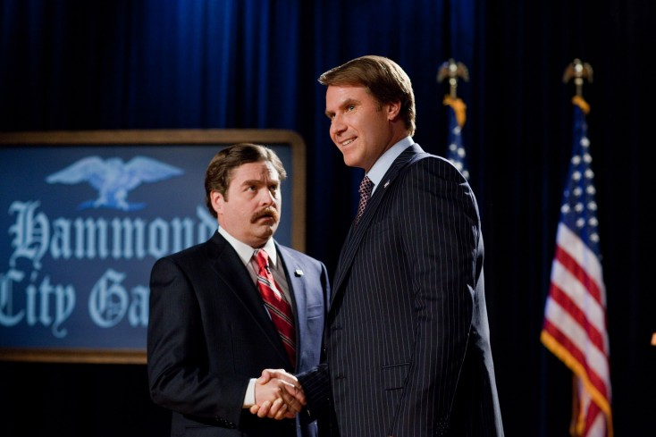 Will Ferrell, Zach Galifianakis Hit 'Campaign' Trail