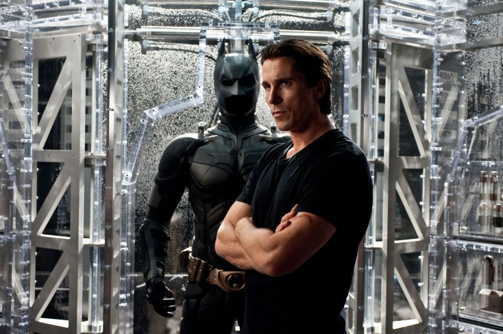 Christian Bale Flies Again With 'Dark Knight Rises'