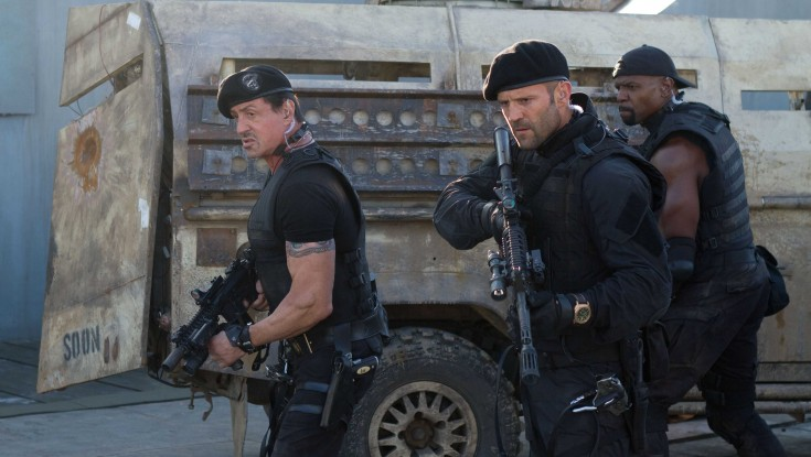 Jason Statham Returns for 'Expendables 2' – 3 Photos