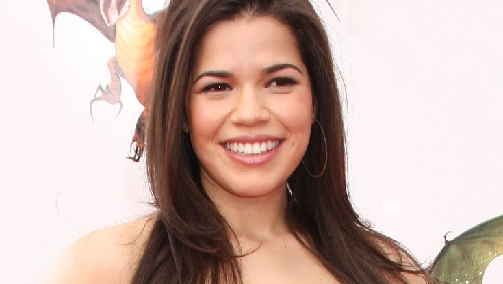 'Ugly Betty's' America Ferrera Dons Badge in 'End of Watch' – 2 Photos