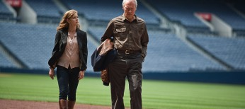 Clint Eastwood Scouts for 'Trouble' in Baseball Pic