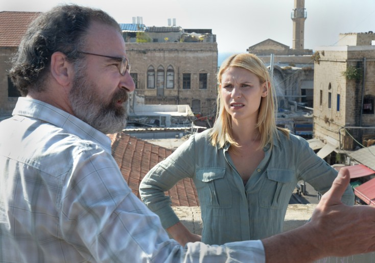 Claire Danes Returns for More 'Homeland' – 3 Photos