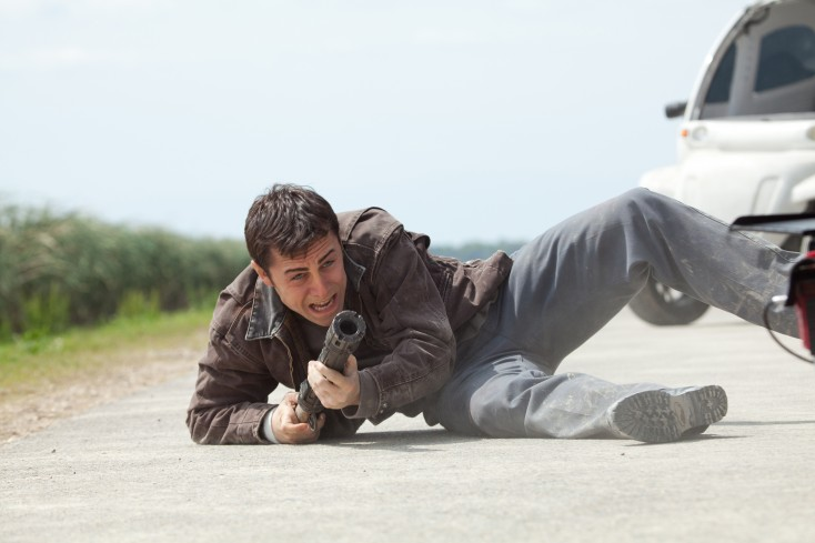 Gordon-Levitt Tackles Time Travel in 'Looper'