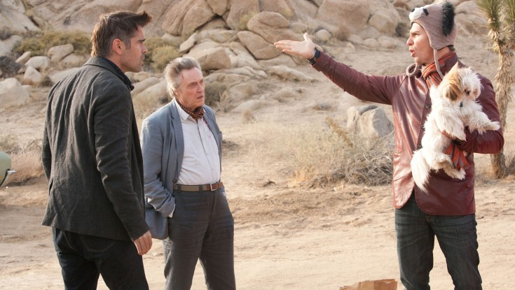 EXCLUSIVE: Colin Farrell Reteams With Martin McDonagh for 'Seven Psychopaths' – 3 Photos