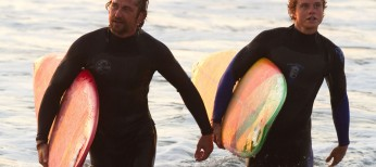 Gerard Butler Hangs Ten in 'Chasing Mavericks'