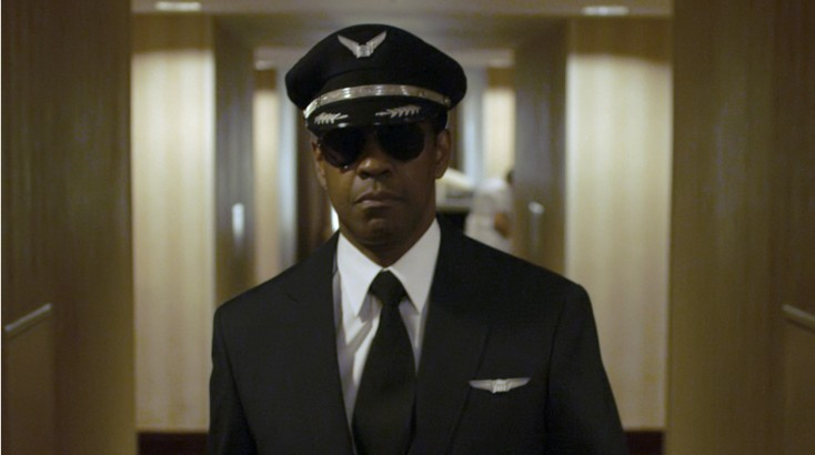 Denzel Washington Was Onboard 'Flight' from Takeoff