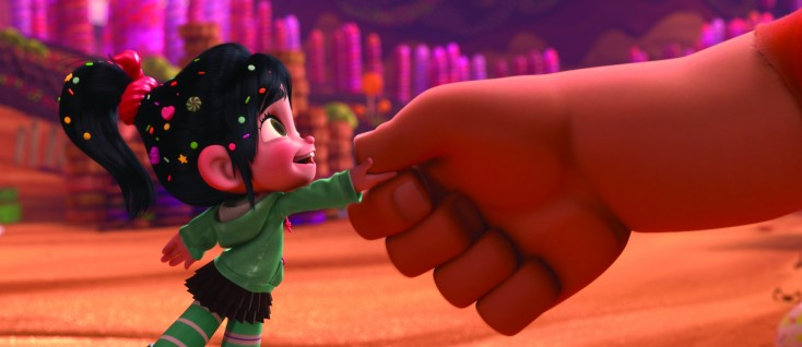 Sarah Silverman Keeps it Kid-Friendly in 'Wreck-It Ralph' – 3 Photos