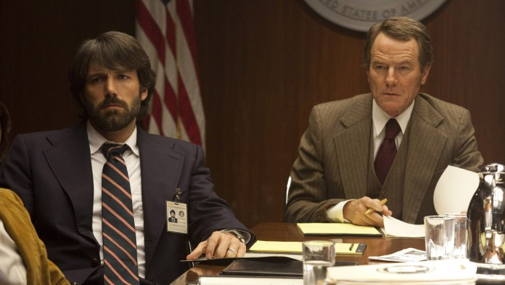 EXCLUSIVE: Breaking From his TV Series, Bryan Cranston Goes Undercover in 'Argo' – 3 Photos