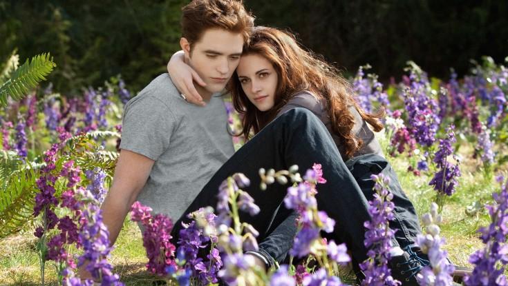 Kristen Stewart on 'Breaking Dawn' Finale – 4 Photos