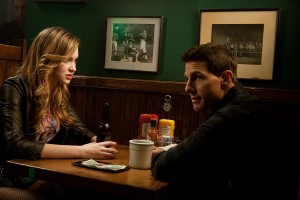 (Left to right) Alexia Fast is Sandy and Tom Cruise is Reacher in JACK REACHER,. ©Paramount Pictures. CR: Karen Ballard.