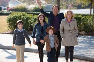 "Old school meets new school when Artie (Billy Crystal) and Diane (Bette Midler) take care of grandkids (from left) Turner (Joshua Rush), Harper (Bailee Madison) and Barker (Kyle Harrison Breitkopf) in ""PARENTAL GUIDANCE."" ©20th Century Fox/Walden Media. CR: Kerry Hayes."