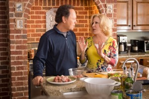 "Artie and Diane (Billy Crystal, Bette Midler) debate whether to accept their daughter's invitation to babysit their grandkids in ""Parental Guidance."" ©20th Century Fox/Walden Media. CR: Phil Caruso."