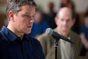 "Matt Damon starts as Steve Butler in Gus Van Sant's ""Promised Land."" ©Focus Features. Cr: Scott Green."