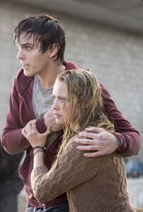 NICHOLAS HOULT and TERESA PALMER star in WARM BODIES. ©Summit Entertainment. CR: Jan Thijs.