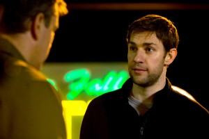 "John Krasinski stars as Dustin Noble in Gus Van Sant's ""Promised Land."" ©Focus Features. CR: Scott Green."