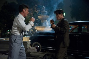 "(L-r) SEAN PENN as Mickey Cohen and JOSH BROLIN as Sgt. John O'Mara in Warner Bros. Pictures' and Village Roadshow Pictures' drama ""GANGSTER SQUAD."" ©Warner Bros. Entertainment. CR: Wilson Webb."