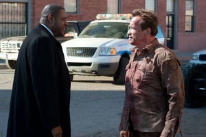 Forest Whitaker (Agent John Bannister, left) and Ray Owens (Arnold Schwarzenegger, right) in THE LAST STAND. ©Lionsgate Entertainment. CR: Merrick Morton