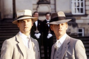 "(l-r) Jeremy Irons and Anthony Andrews stars in ""Brideshead Revisited."" ©ITV/Rex Features."