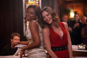 "(l-r) Jennifer Hudson as Veronica Moore, Katharine McPhee as Karen Cartwright in ""SMASH."" ©Eric Liebowitz/NBC Universal."