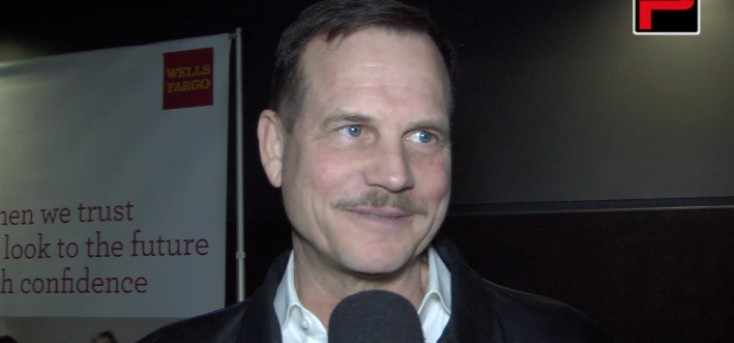Bill Paxton says he's lucky to be an actor