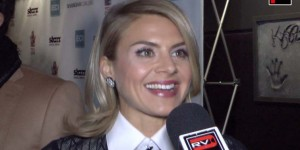 "Eliza Coupe on the red carpet of the Hollywood screening of ""Shanghai Calling."" ©Peter Gonzaga/FRFW."