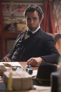 "Billy Campbell portrays Abraham Lincoln in the television film ""Killing Lincoln."" ©National Geographics Channel."