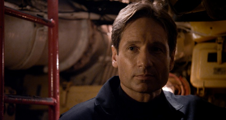 David Duchovny Surfaces in 'Phantom'