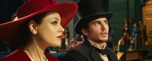 "Mila Kunis and James Franco star in ""Oz, The Great and Powerful."" ©Disney Enterprises."
