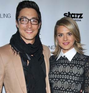 "Daniel Henney & Eliza Coupe at the ""Shanghai Calling"" Los Angeles Premiere held at the TCL Chinese Theatre in Hollywood, CA.The event took place on Monday, Febuary 12, 2013. Photo by PRPP_Pacific Rim Photo Press."
