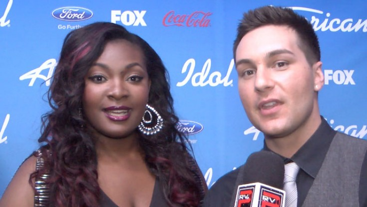 "'American Idol' contestant Candice Glover says, ""Oh my God!"""