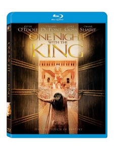 "DVD/Blu-ray disc artwork for ""One Night With The King."" ©20th Century Fox."