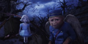 "China Girl (Voiced by Joey King), left; Finley (Voiced by Zach Braff), right in ""OZ: THE GREAT AND POWERFUL"" ©Disney Enterprises, Inc."