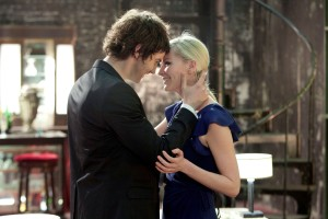 "Jim Sturgess as ""Adam"" and Kirsten Dunst as ""Eden"" in ""UPSIDE DOWN."" ©Millennium Entertainment."