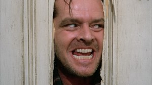 "Jack Nicholson in ""The Shining."" ©Warner Bros. Pictures."
