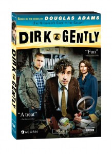 """Dirk Gently"" (DVD Art). ©BBC."