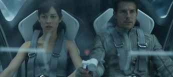 'Oblivion' Star Olga Kurylenko is No Stranger to Action Genre – 3 Photos
