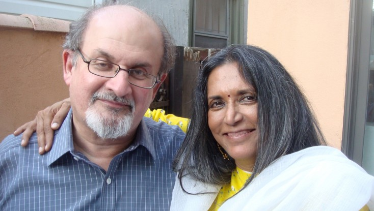 Salman Rushdie Goes Hollywood