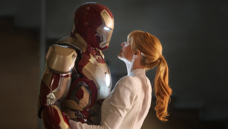 Paltrow's Pepper Potts Gets Physical in 'Iron Man 3' – 4 Photos