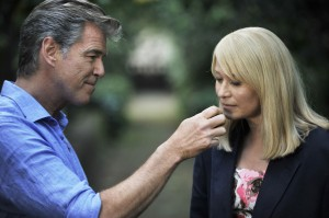 "Pierce Brosnan as Philip and Trine Dyrholm as Ida in ""Love Is All You Need."" ©Sony Pictures Classics. CR: Doane Gregory."