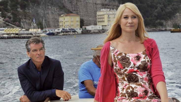 Pierce Brosnan Finds 'Love' in Italy – 4 Photos
